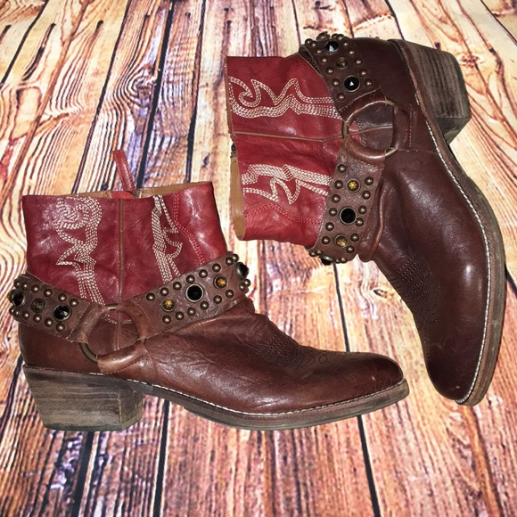 8d6cc6214fdde9 Sam Edelman Skylar leather booties. M 5ae123701dffda6cf46d1479
